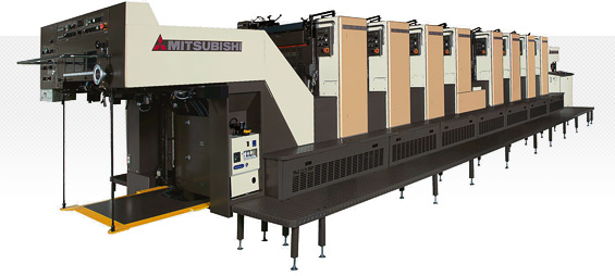 Which are the best Mitsubishi offset presses?