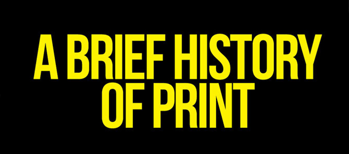 History of printing - from classic to modern