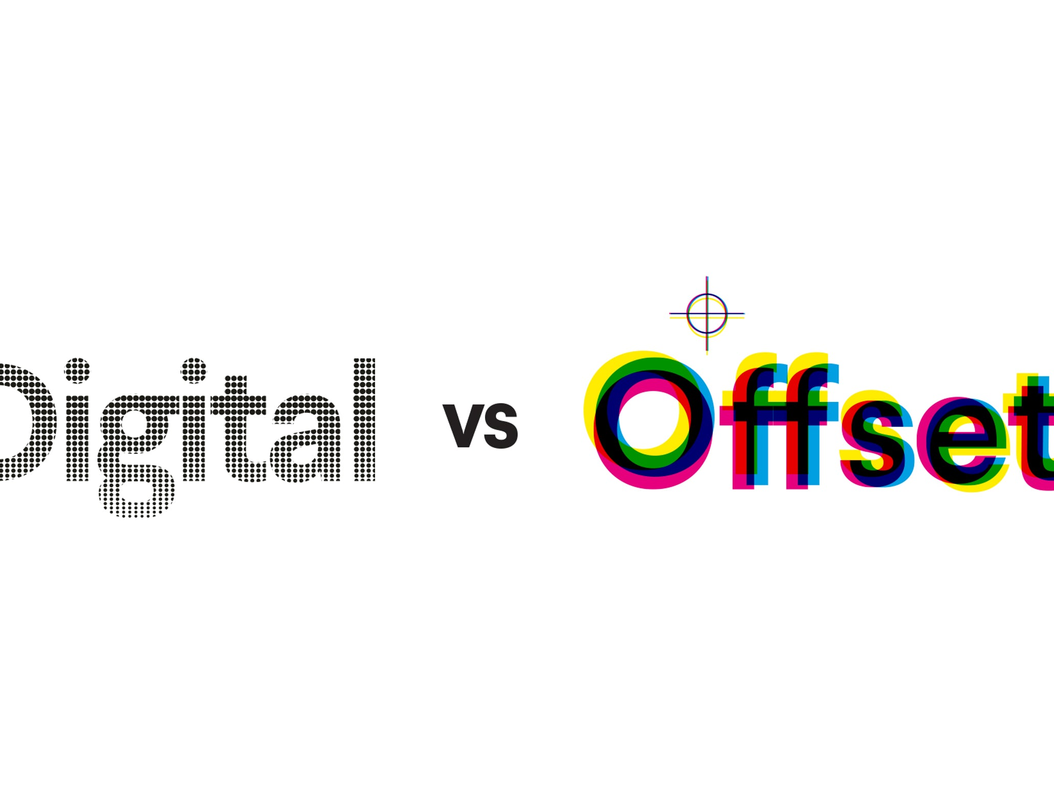 Digital printing vs. Offset