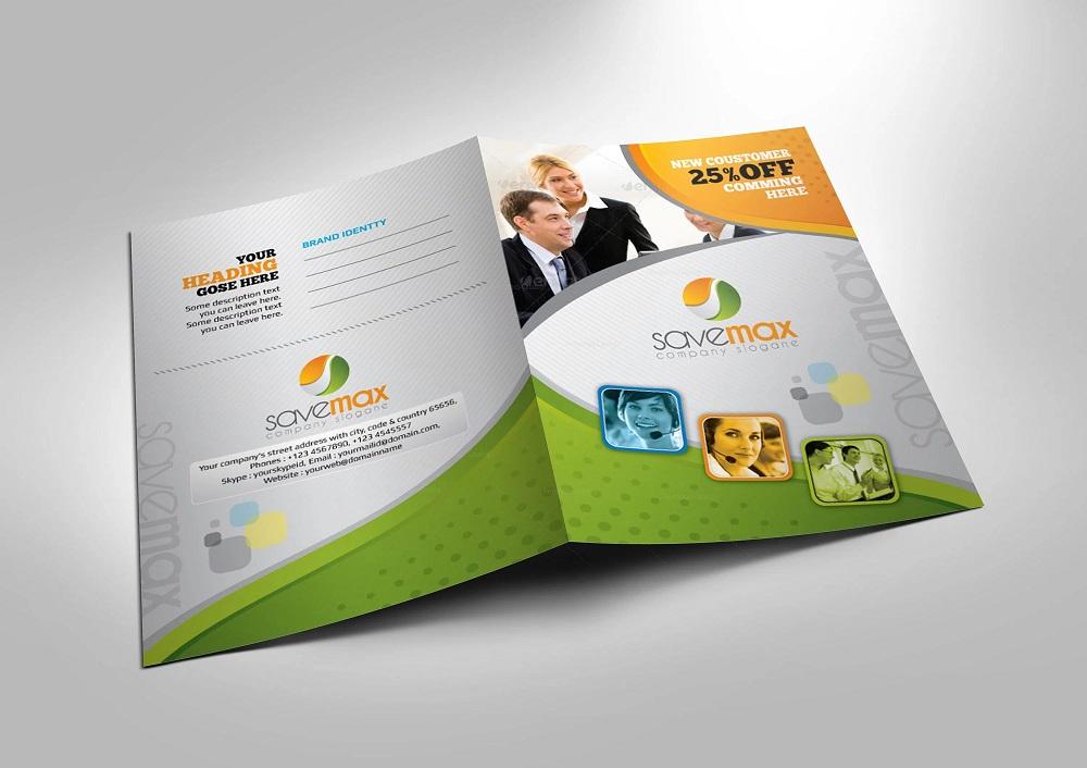 Presentation folders: design & print information